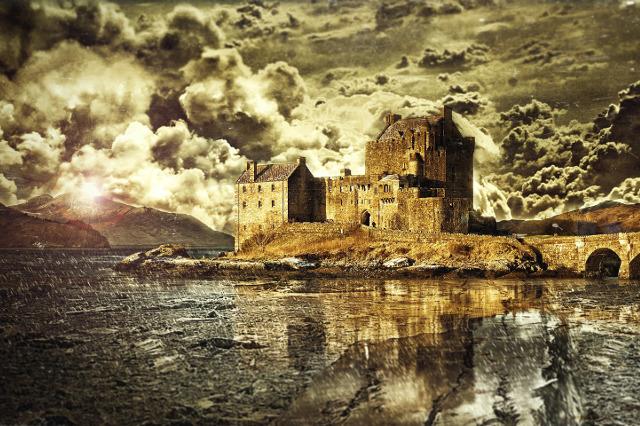 Romanzo storico: il caso Outlander (Eilan Castle - Scotland)