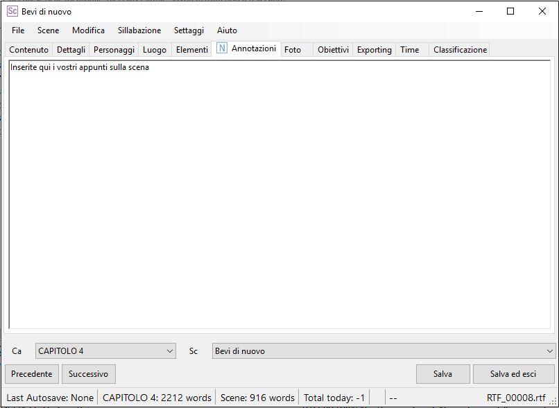 yWriter6 - EditorScene_Annotazioni