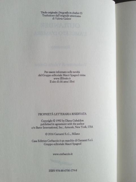 Le parti del libro: Colophon