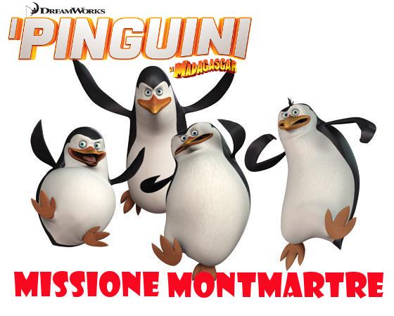I Pinguini di Madagascar: Missione Montmartre