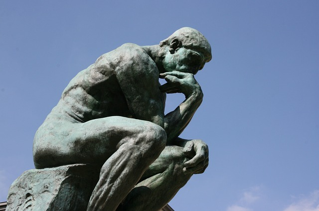 Sei cappelli per pensare - Il pensatore di Rodin