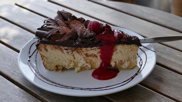 Una fetta di cheesecake?