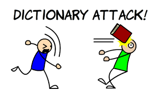 Dictionary attack!