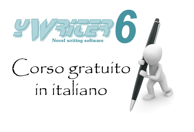 yWriter6, software per scrittori - Corso gratuito in italiano