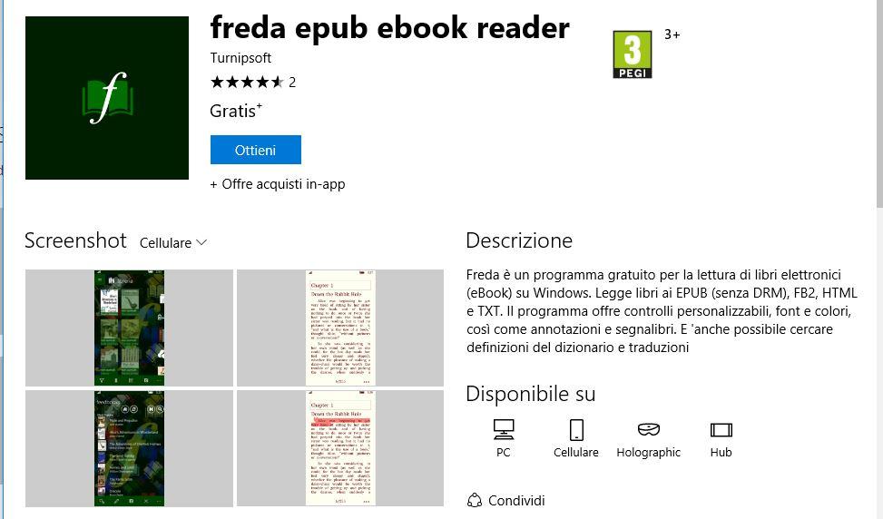 Leggere ebook dal cellulare - Freda