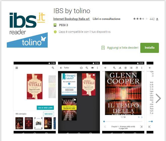 Leggere ebook dal cellulare - IBS