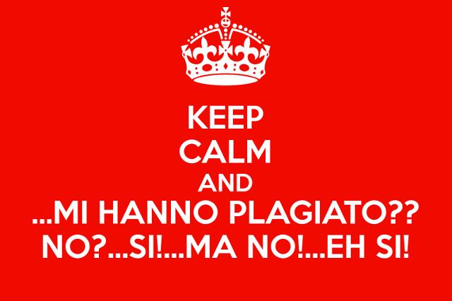 Keep Calm Plagio