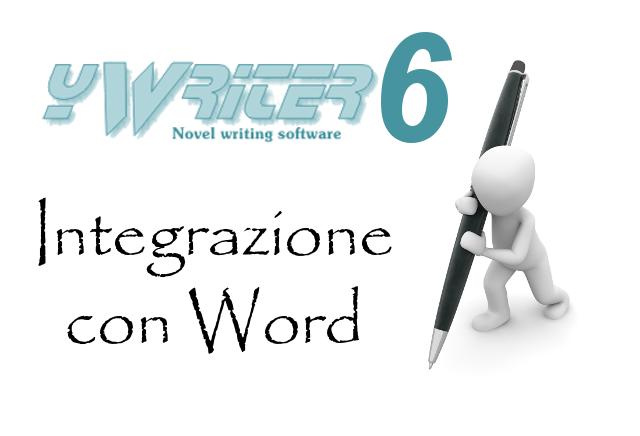 yWriter6 - Integrazione con Word e altri editor