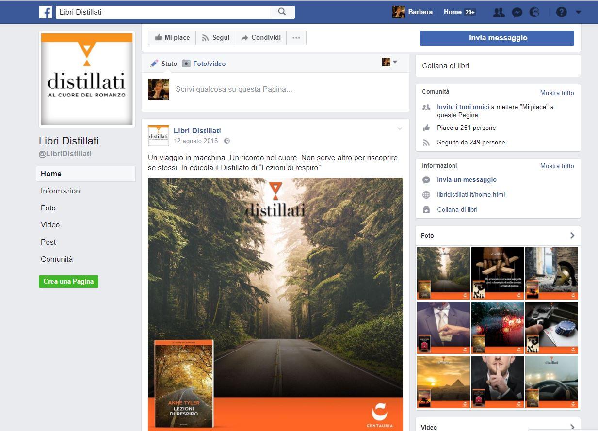 Libri Distillati su Facebook