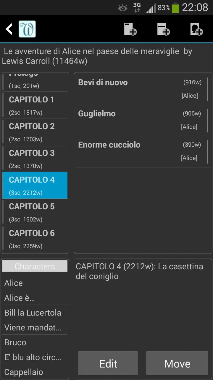yWriter6 - Editor1_Capitolo