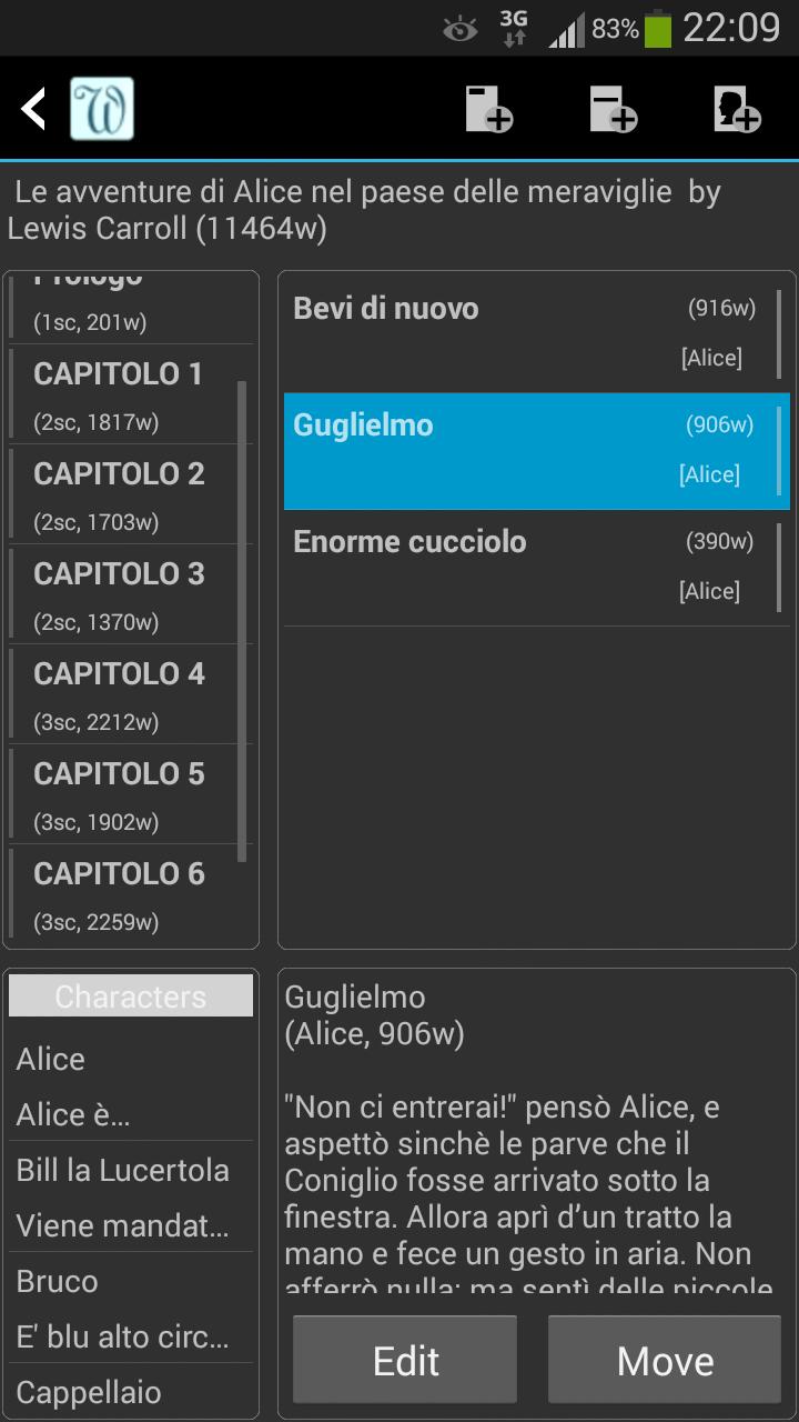 yWriter6 - Editor2_Scena