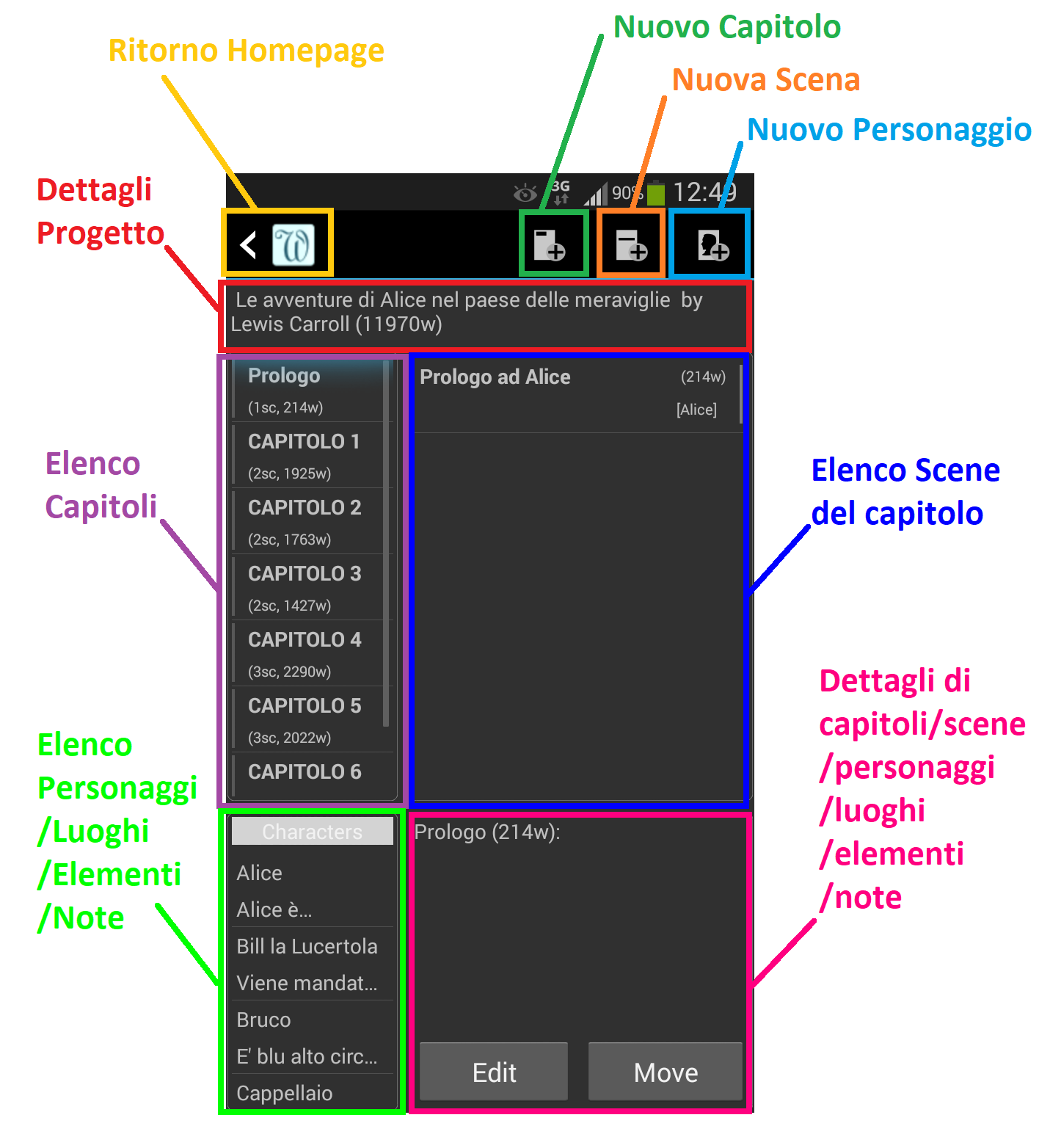 yWriter6 - Editor_sezioni