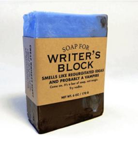 Il blocco dello scrittore, sapone per toglierselo di dosso
