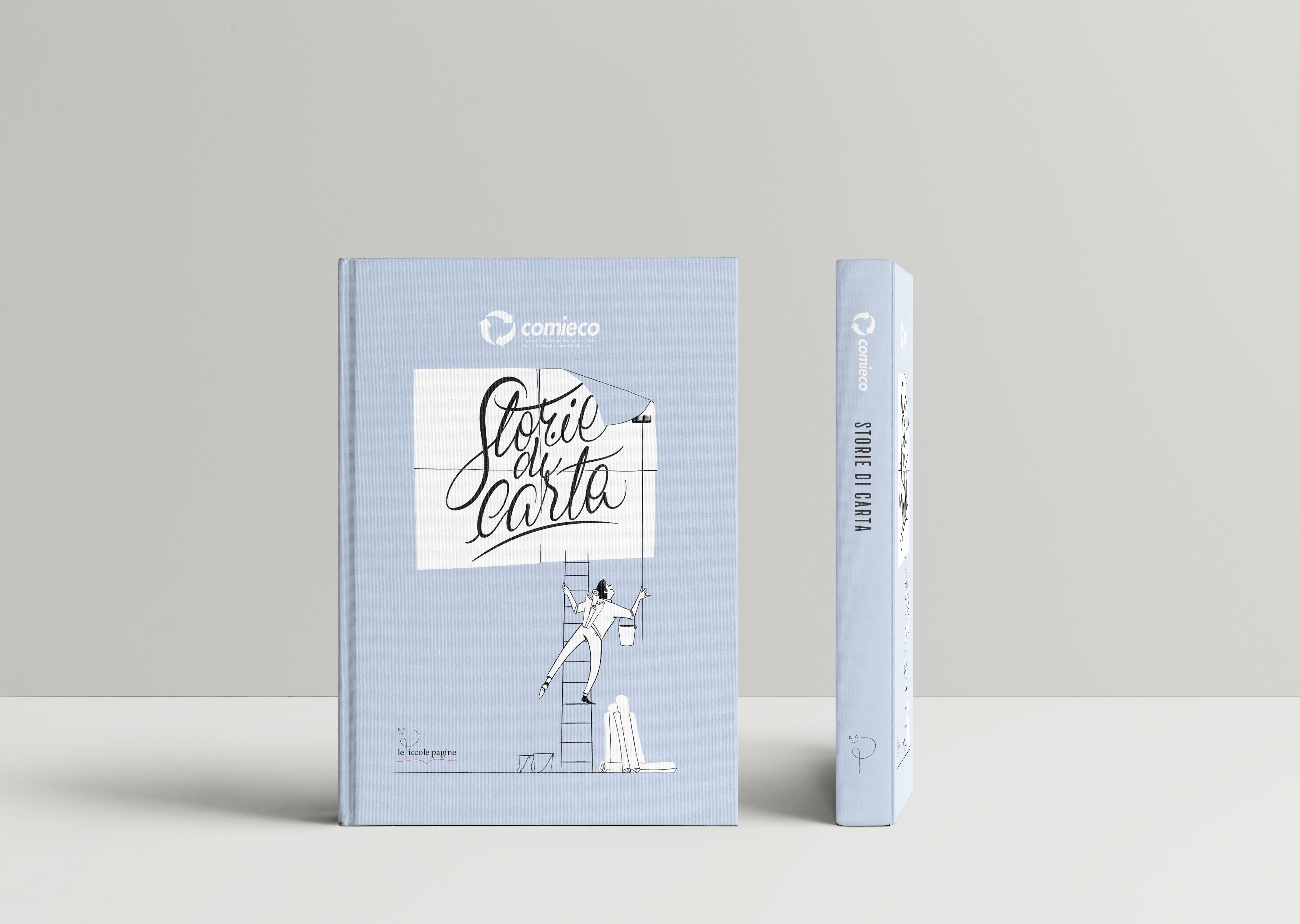 Storie di carta, antologia realizzata da Comie