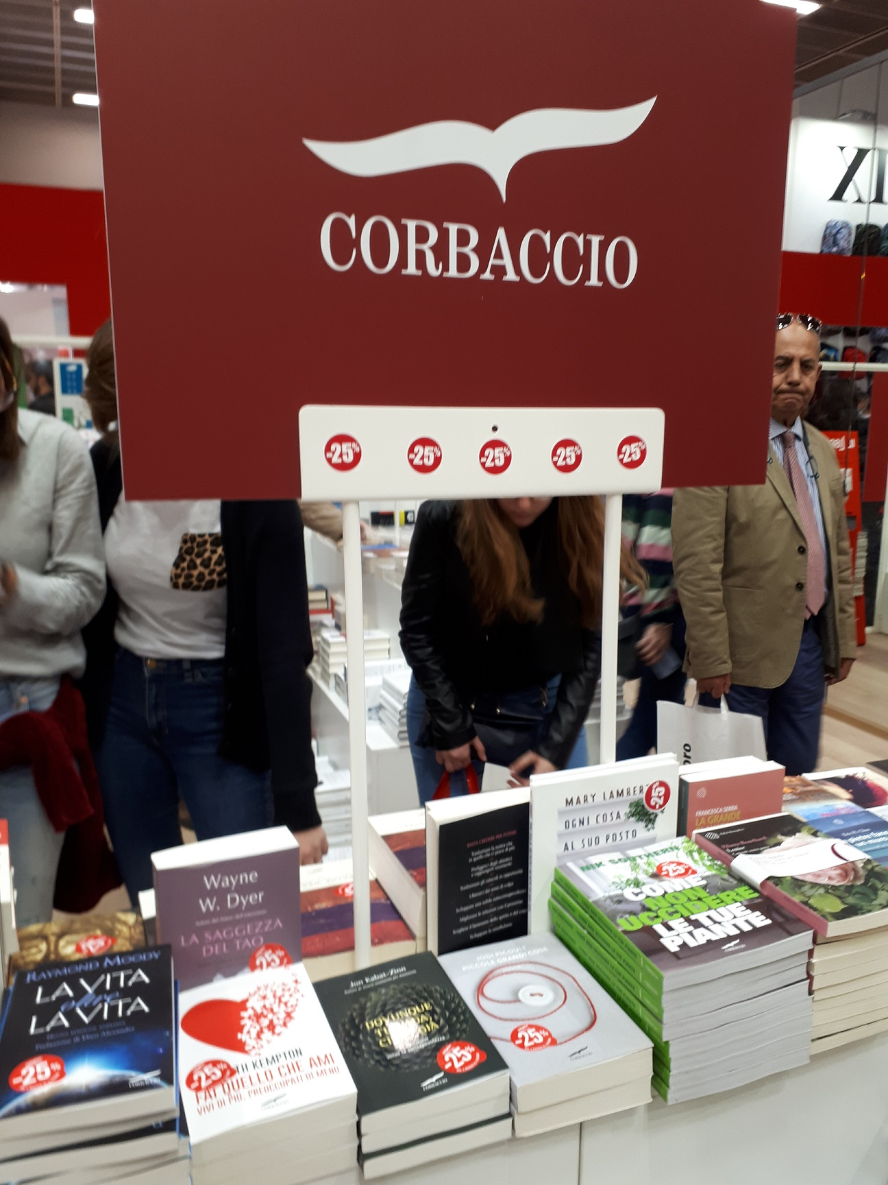 Salone del Libro di Torino 2018 - stand Corbaccio