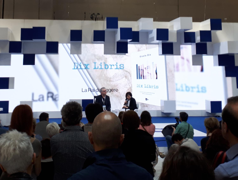 Salone del Libro di Torino 2018 - Gioele Dix