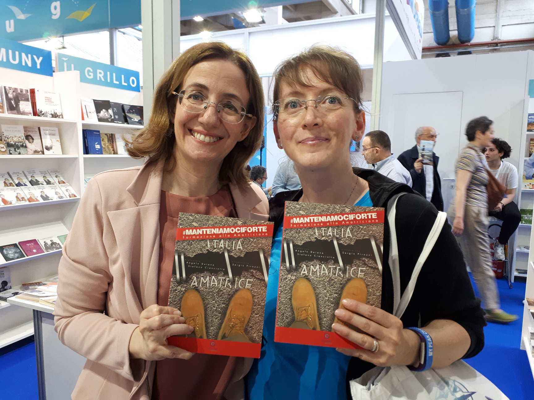 Salone del Libro di Torino 2018 - Manteniamoci Forte