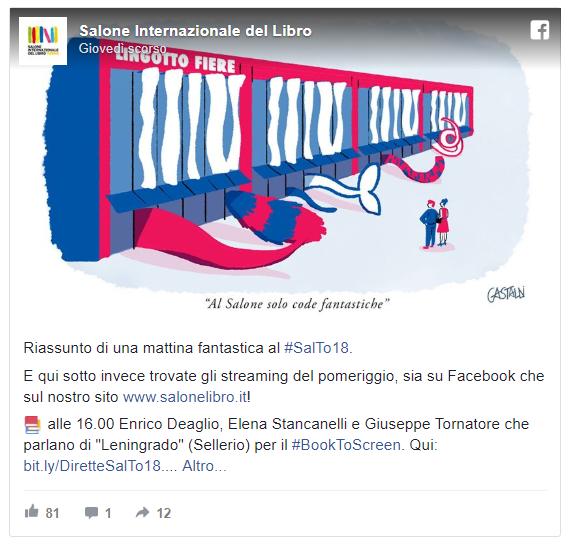Salone del Libro di Torino 2018 - code fantastiche
