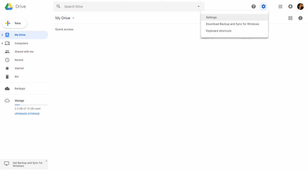 Google Docs - Cambio lingua interfaccia 1