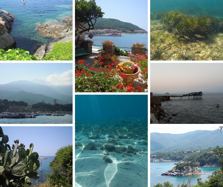 Scrivere dall'isola d'Elba: tutti i colori dell'isola