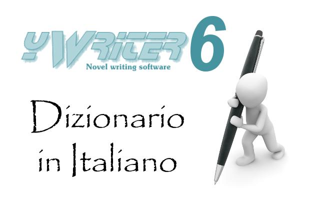 Dizionario Italiano in yWriter6, software per scrittori