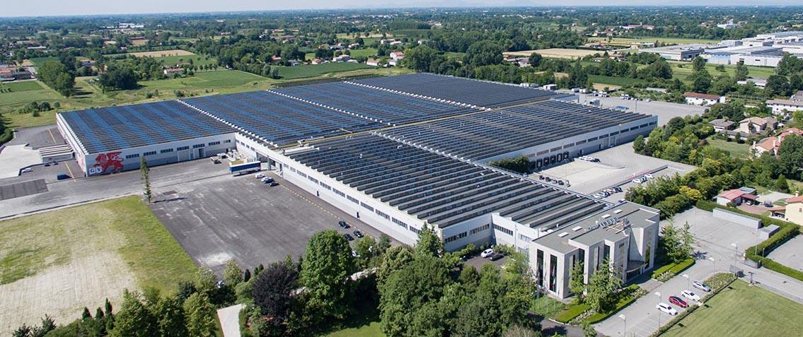 Grafica Veneta - Impianto fotovoltaico