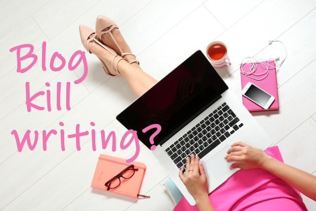 Blog kill writing? Il blog uccide la scrittura?