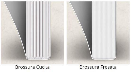 Grafica Veneta - Differenza tra brossura cucita e fresata