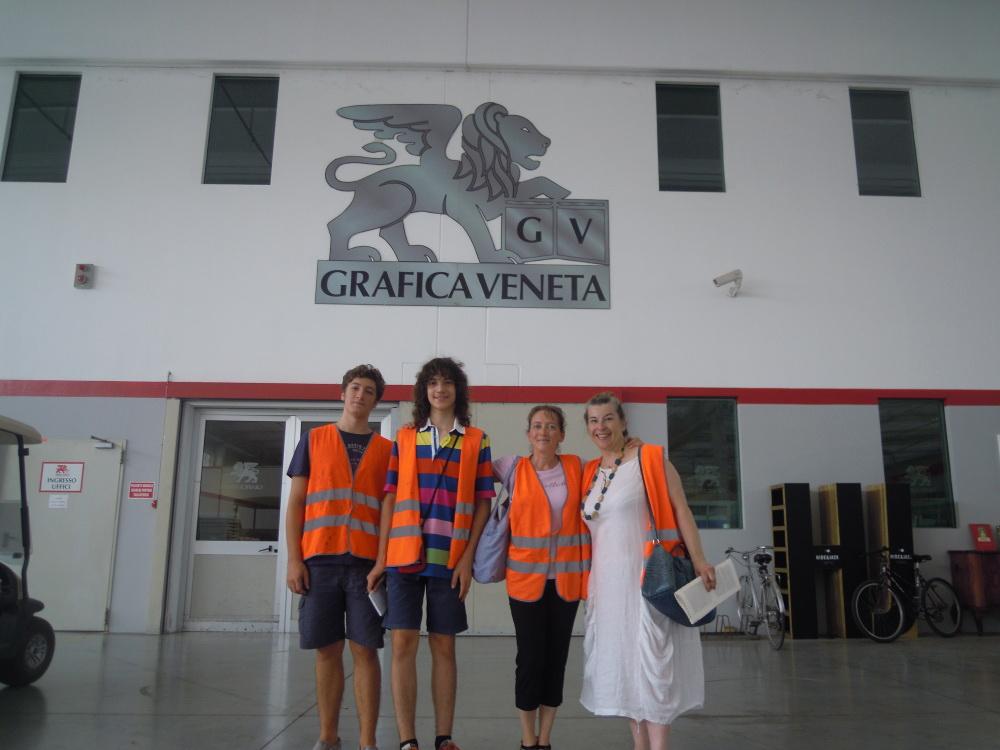 webnauta in visita in Grafica Veneta