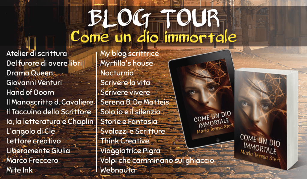 Come un dio immortale - Blog tour