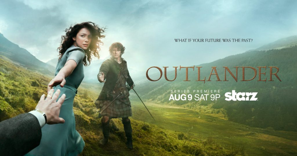 Outlander season1 part1 - What if your future was the past?