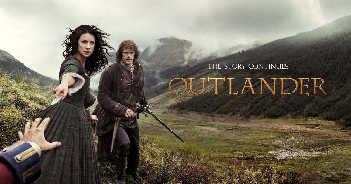 Outlander season1 part2 - The story continues