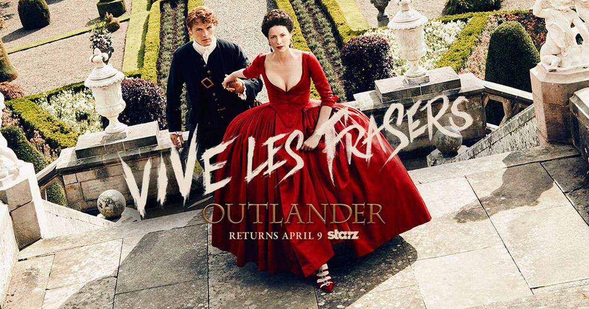 Outlander season2 - Vive les Frasers