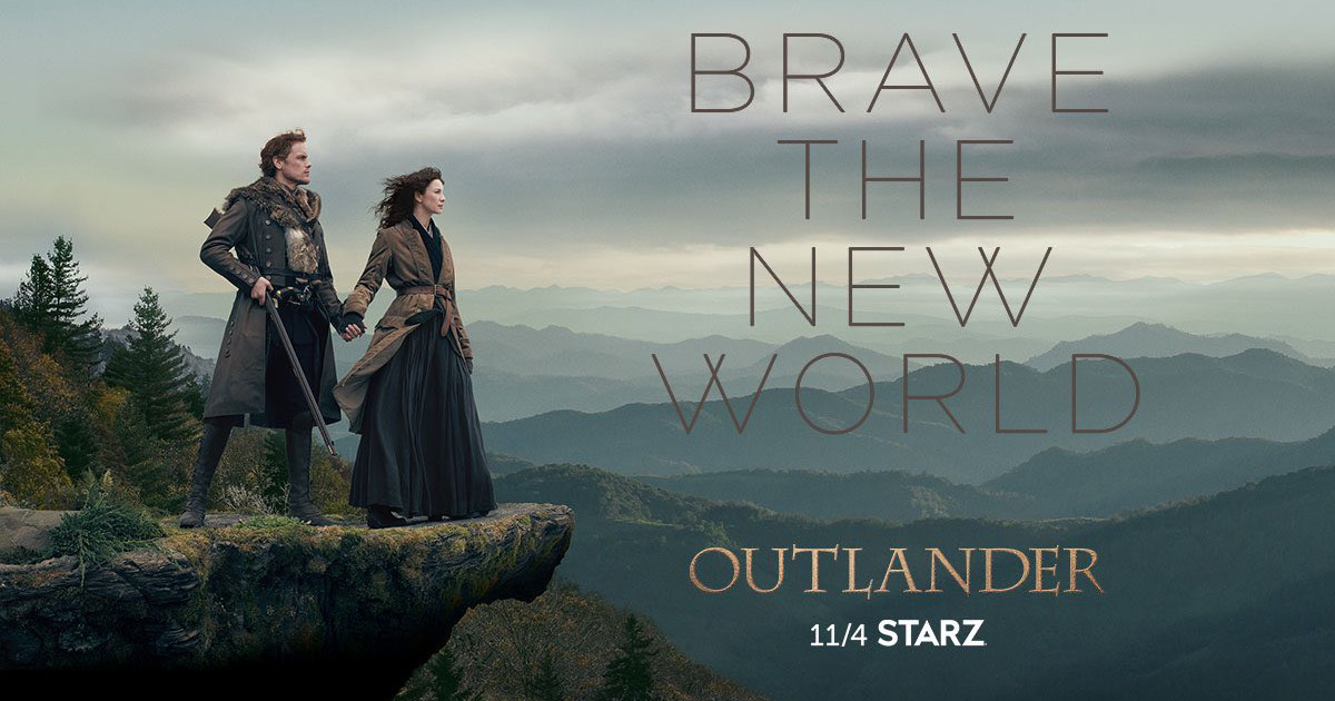 Outlander season4 - Brave the new world