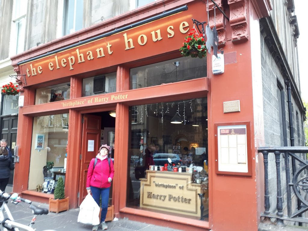 Edimburgh The Elephant House