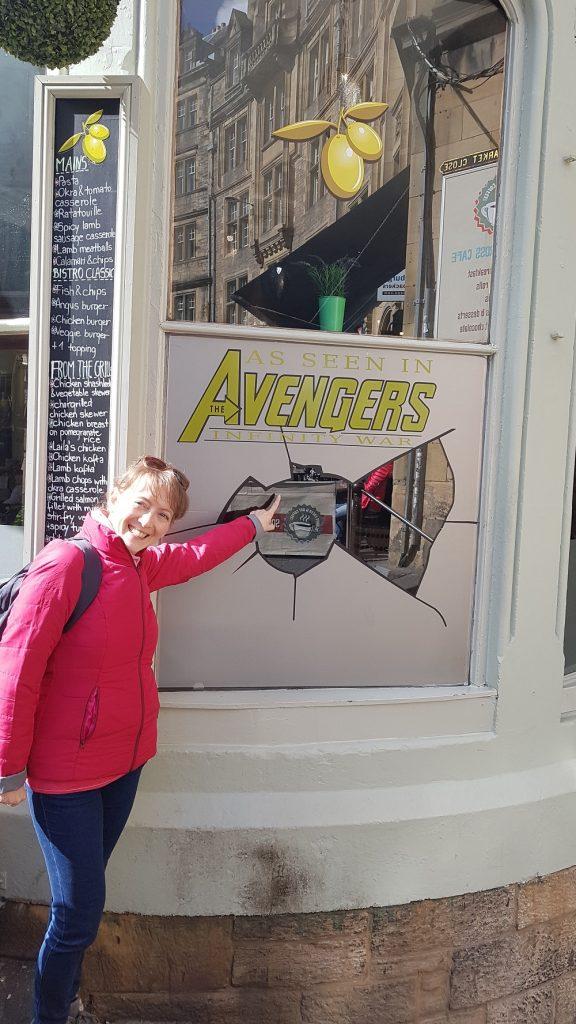 Edimburgh: Laila's Bistrot in Avengers