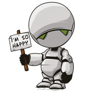 Guida galattica per autostoppisti - The Hitchhiker's Guide to the Galaxy - Marvin from kisspng.com