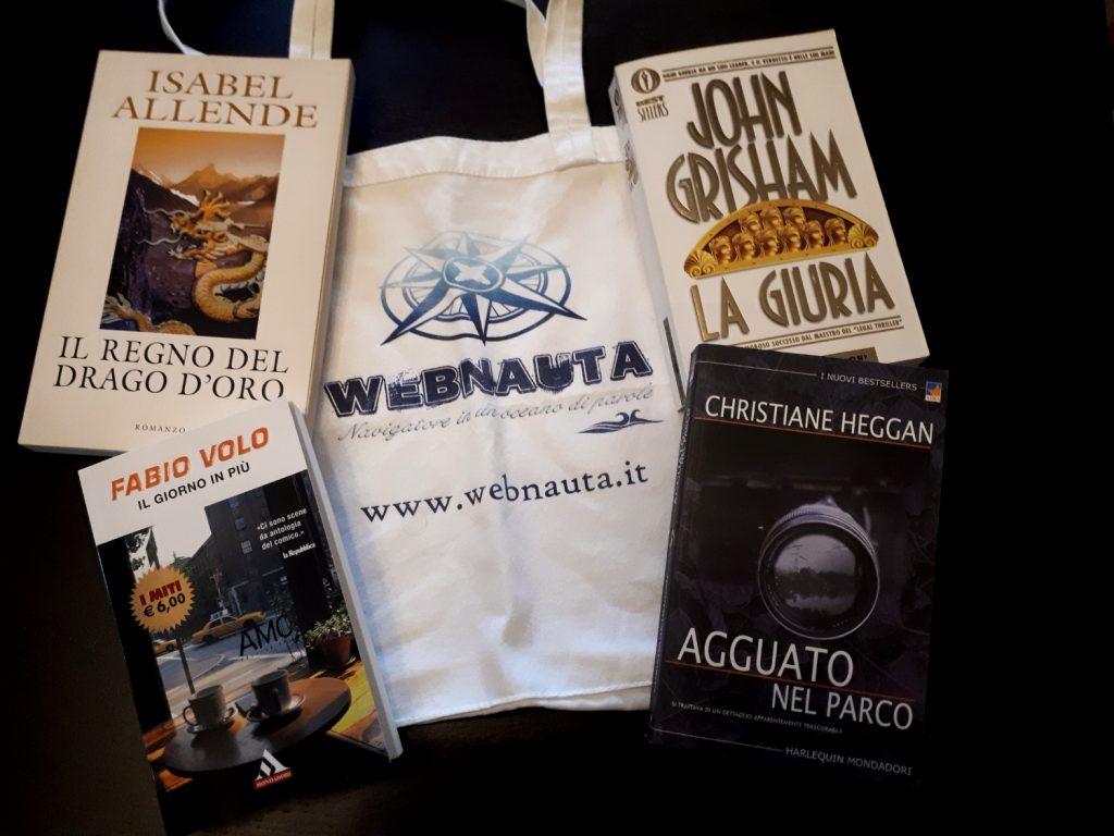 Bookcrossing - libri rilasciati da webnauta