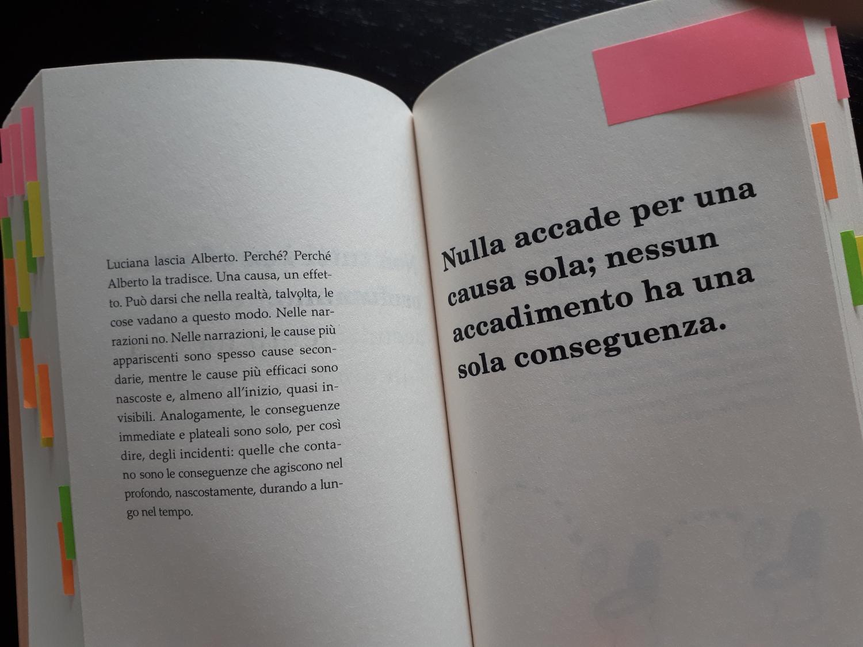 Oracolo manuale per scrittrici e scrittori di Giulio Mozzi - una pagina