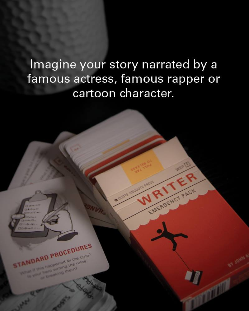 Non sai cosa scrivere? Writer Emergency pack