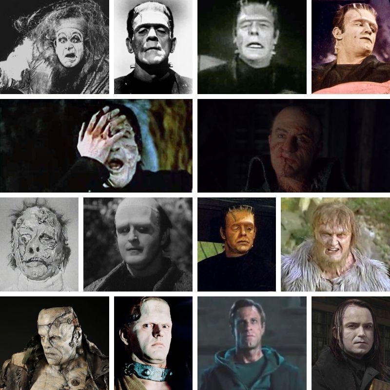 Tutti i mostri Frankenstein al cinema