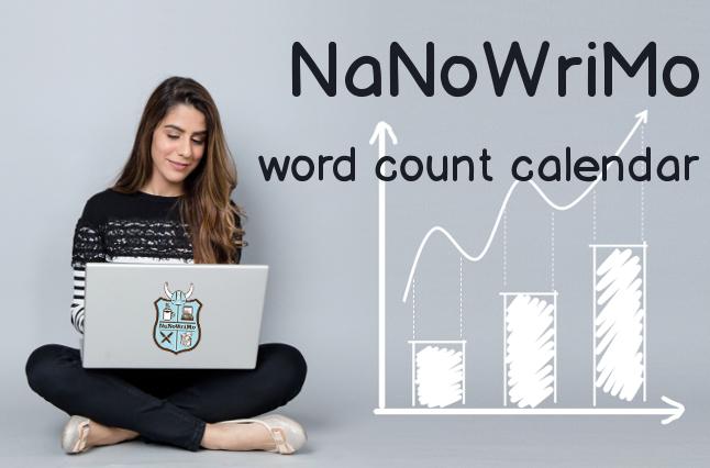 NaNoWriMo word count calendar - NaNoWriMo conteggio parole in excel in italiano