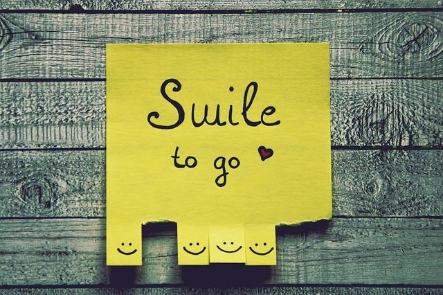 Smile to go - Sorridi prima di suonare il campanello