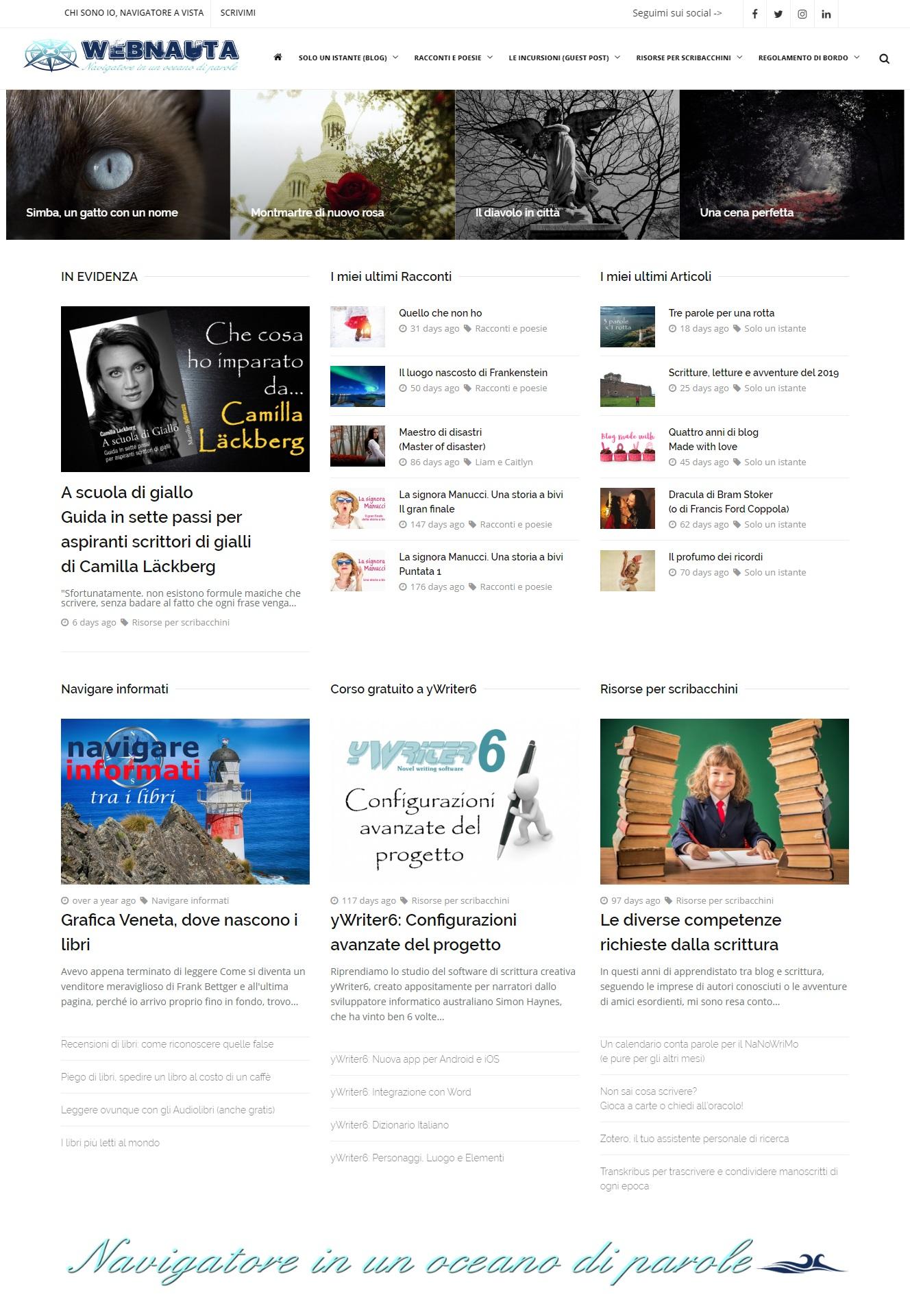 webnauta in versione desktop 1