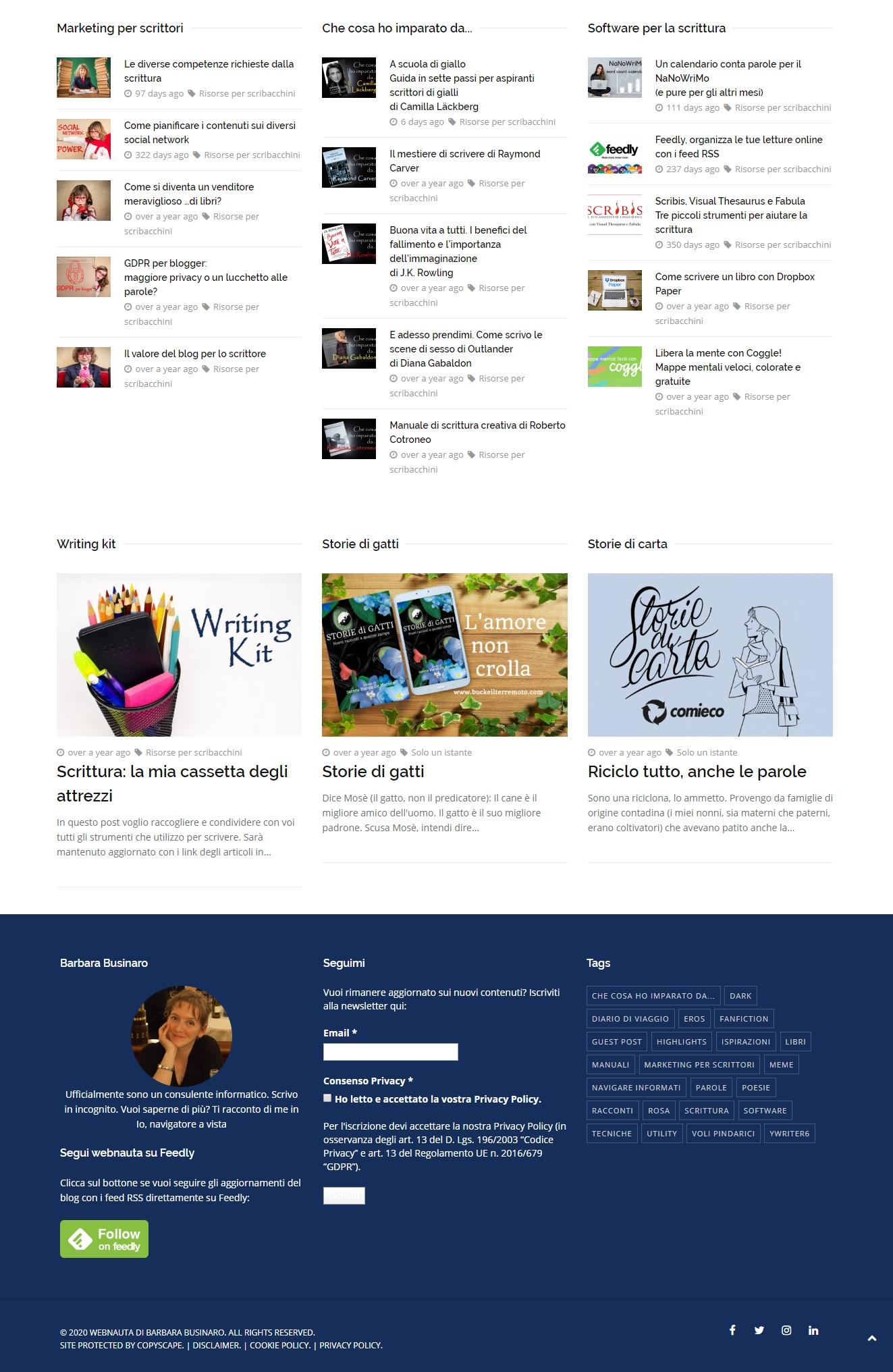 webnauta in versione desktop 2