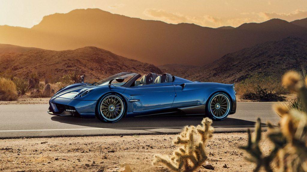 Pagani Huayra Roadster, un'auto da sogno