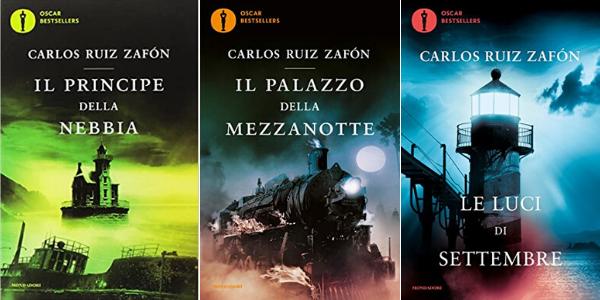 La trilogia della nebbia di Carlos Ruiz Zafòn - Tutti i romanzi