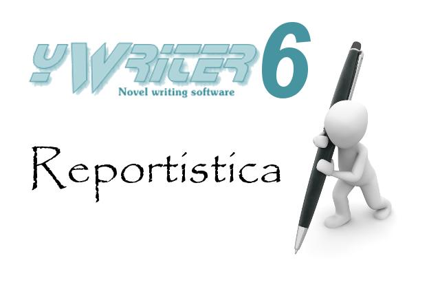 yWriter6 - Reportistica