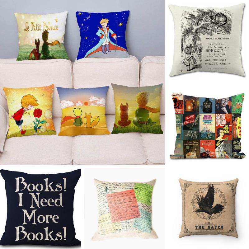 Regali per lettori (e scrittori): cuscini letterari