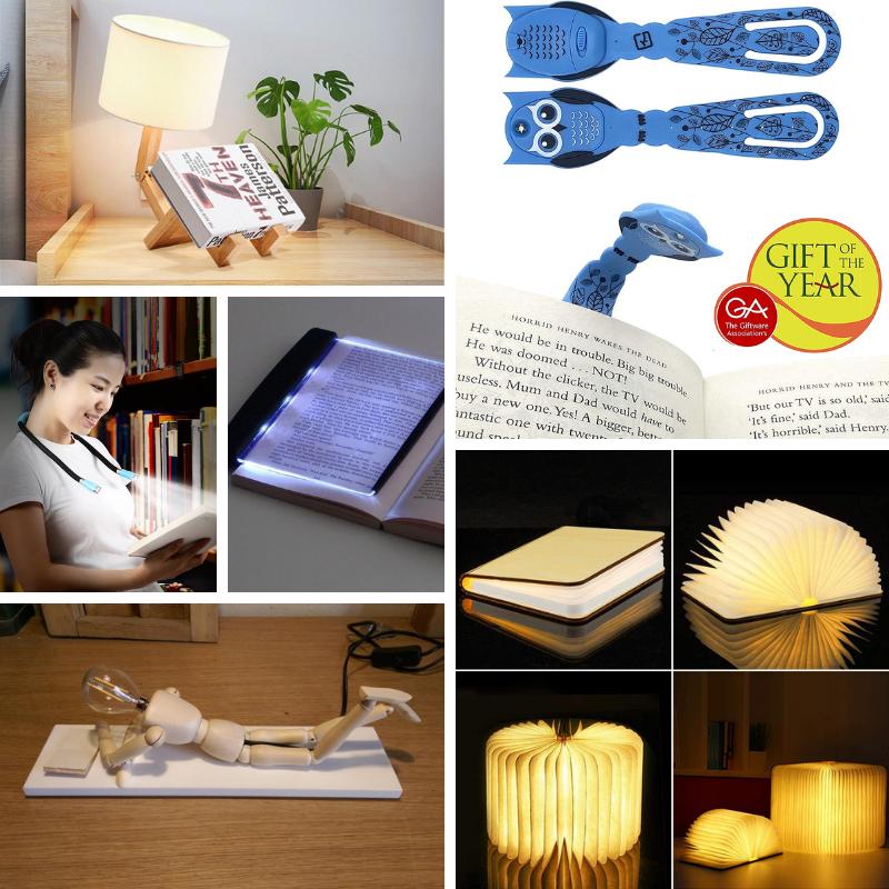 Regali per lettori (e scrittori): lampade da lettura